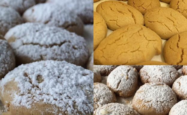 עוגיות בשלבי הכנה (צילום: ניר סלונים)