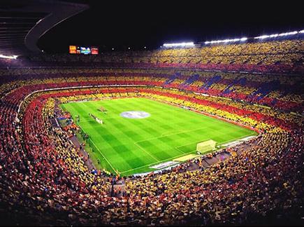 קאמפ נואו, האיצטדיון הכי גדול באירופה (gettyimages) (צילום: ספורט 5)