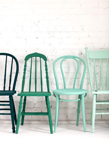 פינות אוכל, כיסאות עץ  (צילום: Decor8)