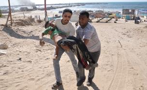 בדוח נטען: חמאס הרג יותר פלסטינים (צילום: רויטרס)
