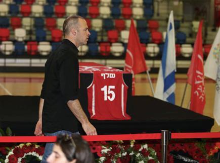 כבוד אחרון (אלן שיבר) (צילום: ספורט 5)