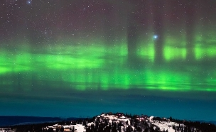 אורות הצפון, אלסקה (צילום: Alexis Coram)