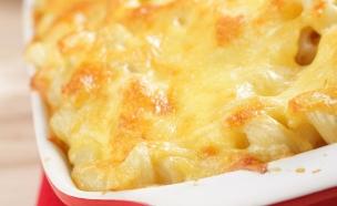 פשטידת פסטה, תירס וגבינות (צילום: אימג'בנק / Thinkstock)