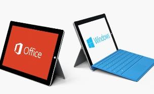 טאבלט Surface 3 של מיקרוסופט (צילום: מיקרוסופט)
