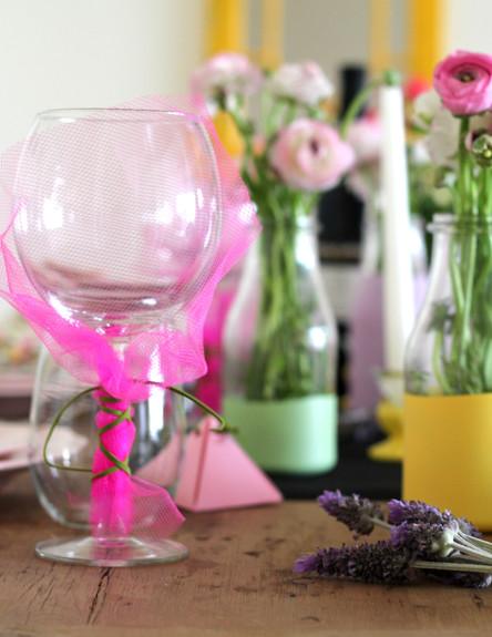 שולחן ברגע האחרון, כוס עטופה