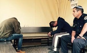 ניב אסרף הצעיר שבדה חטיפה (צילום: חדשות 2)