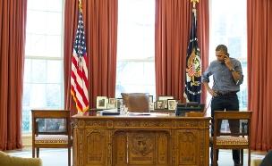 """נחשף הלו""""ז של אובמה. ארכיון (צילום: רויטרס)"""