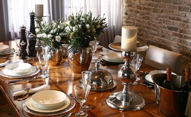 שולחן חג בית העיצוב RUGINE - פסח - עיצוב לחג (צילום: RUGINE)