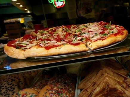 גם הפיצה חוזרת. אילוסטרציה