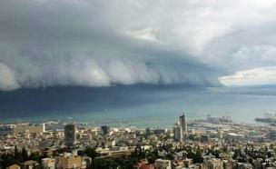 מפרץ חיפה, היום (צילום: אייל מזרחי)