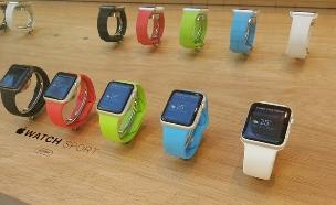 אפל ווטש, השעון החכם של אפל (צילום: יאיר מור, לונדון)