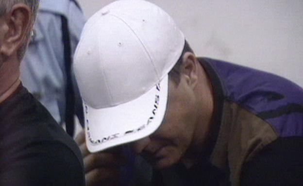 יוסי מוסלי בבית המשפט (צילום: חדשות 2)
