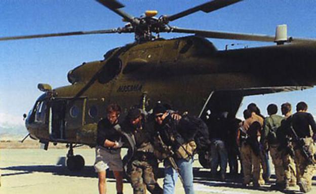 היחידה עם מסוק מדגם רוסי, אפגניסטן 2002  (צילום: צבא ארצות הברית)