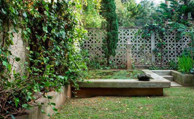 טולה עמיר, ביתה הפרטי.  (צילום: רוני כנעני)