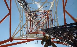 """מטפסי התרנים של אגף התקשוב (צילום: דובר צה""""ל)"""
