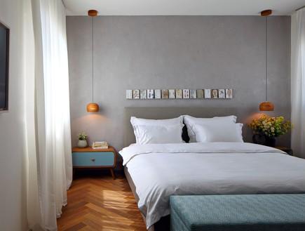 חדרי שינה 08, עיצוב בגוונים חמים ומעושנים