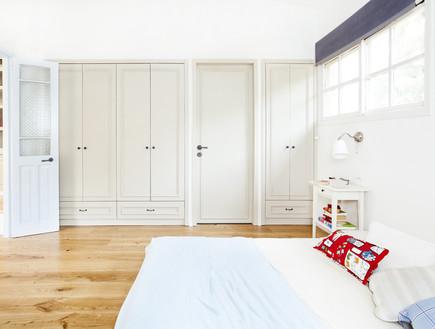 חדרי שינה 02, אחסון מדויק למראה מסודר ונקי