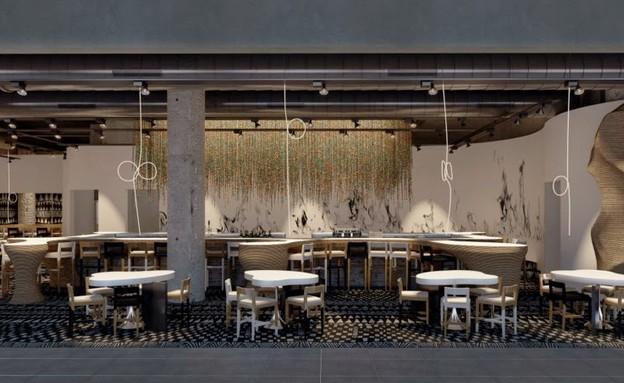 אלכס מייטליס, מסעדת קווטרו. הדמיות (צילום: הדמיות)