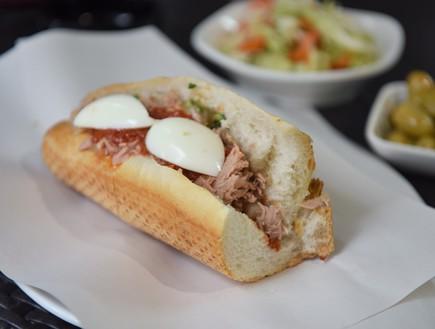 הסנדוויץ' הטוניסאי של מוריס