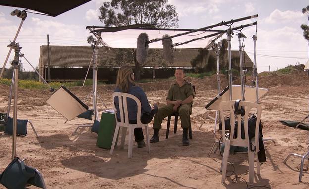 """סגן עוז לומס (צילום: מערכת """"עובדה"""")"""