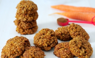 עוגיות גזר (צילום: שרית נובק - מיס פטל, אוכל טוב)