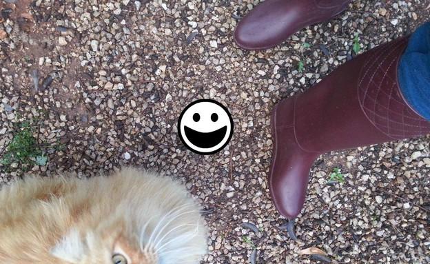 הנעליים של נועה (צילום: mako)