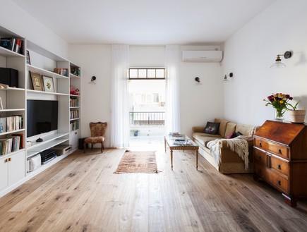 דירות רווקים 01, אור טבעי שוטף את הדירה