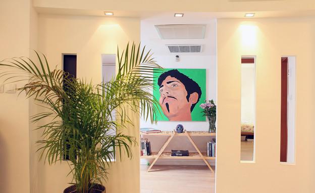 הדירה של ימית וישראל (צילום: אבישי פינקלשטיין)