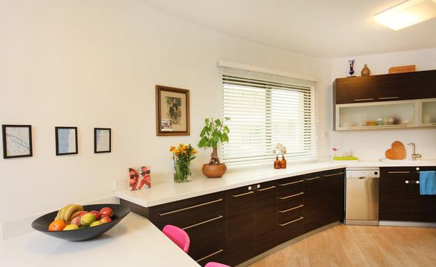הדירה של ימית וישראל, מטבח (צילום: אבישי פינקלשטיין)