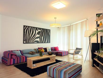 הדירה של ימית וישראל, סלון