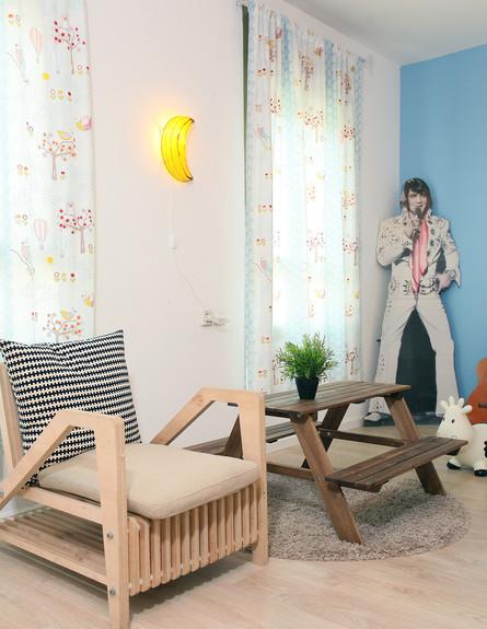 הדירה של ימית וישראל, חדר ילדים (צילום: אבישי פינקלשטיין)
