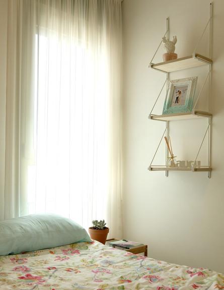 הדירה של ימית וישראל, חדר שינה גובה (צילום: אבישי פינקלשטיין)