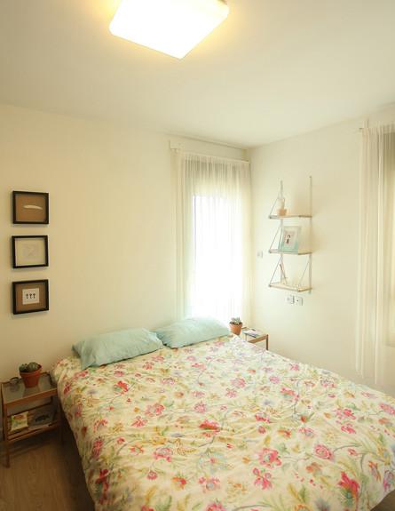 הדירה של ימית וישראל, חדר שינה (צילום: אבישי פינקלשטיין)