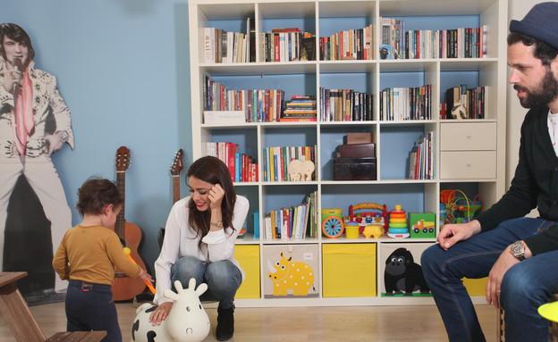 הדירה של ימית וישראל, ילד (צילום: אבישי פינקלשטיין)