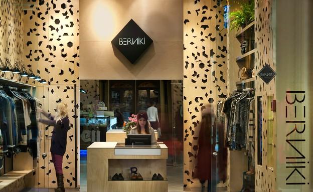 חנות בגדים, אדריכל ישראל נוטס (צילום: עמרי אמסלם)