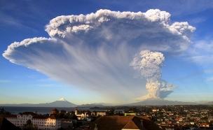 מאות פונו מבתיהם. צ'ילה אתמול (צילום: רויטרס)
