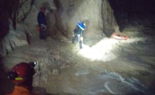 חילוץ במדבר יהודה. ארכיון (צילום: יחידת חילוץ מגילות)