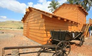 הצריף בדגניה (צילום: חן ליאופולד)
