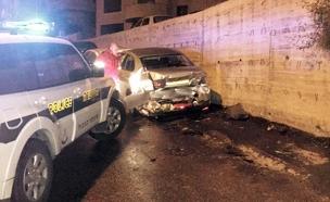 הרכב עורר חשדם של השוטרים (צילום: חטיבת דובר המשטרה)