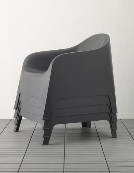ריהוט חוץ איקאה, כיסאות נערמים