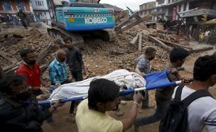 רעידת אדמה בנפאל (צילום: חדשות 2)