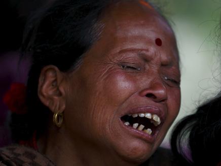 רעידת האדמה בנפאל (צילום: חדשות 2)