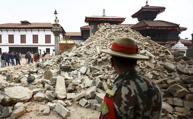 תמונות ההרס, נפאל (צילום: רויטרס)
