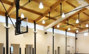 בתים של ספורטאים 04, מגרש כדורסל ביתי (צילום: conciergeauctions.com)