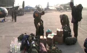 """משלחת צה""""ל בחיפושים אחרי אור אסרף (צילום: חדשות 2)"""