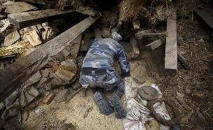 מבצע חילוץ בנפאל (צילום: רויטרס)