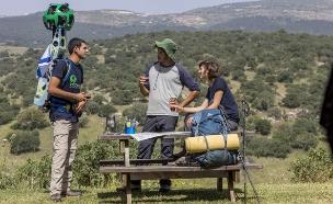 Google Trekker בשביל ישראל (צילום: מנחם רייס)