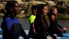 טהוניה עושה יוגה (צילום: מתוך הבילויים, ערוץ 24)