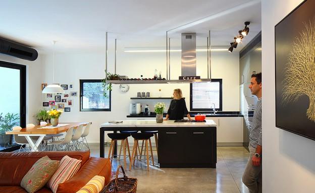 דירה על השדרה, מעוז פרייס אדריכלים. (צילום: עוזי פורת)