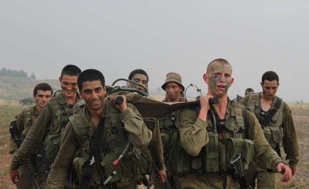 """מסע כומתה פלמ""""ס שריון (צילום: דובר צה""""ל, באדיבות גרעיני החיילים)"""